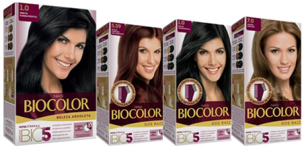 TINTURA BIOCOLOR - TODAS AS CORES